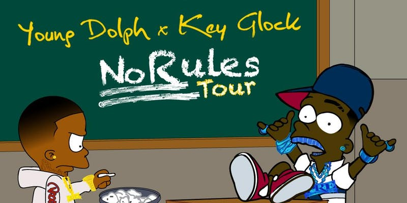 Young Dolph & Key Glock - No Rules Tour